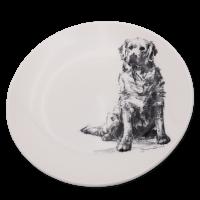 Teller mit Hundegemälden - Victoria Armstrong Collection Golden Retriever