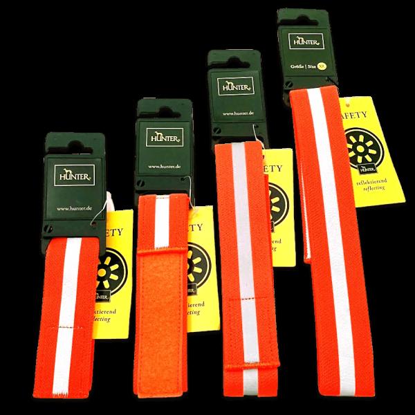 Hunter Warnband - Signalhalsung mit Klettverschluss