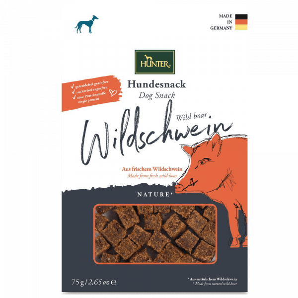 Hunter Hundesnack Nature, Wildschwein