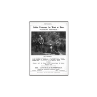 Reprint - Goldens 1917, Rusbury Kennels