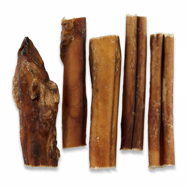 Kausnack Ochsenziemer, getrocknet, 5 Stück