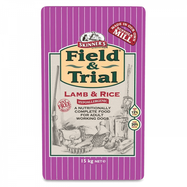 Skinners F&T Lamb & Rice