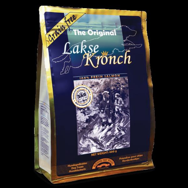Lakse Kronch, Lachs Snack für Hunde