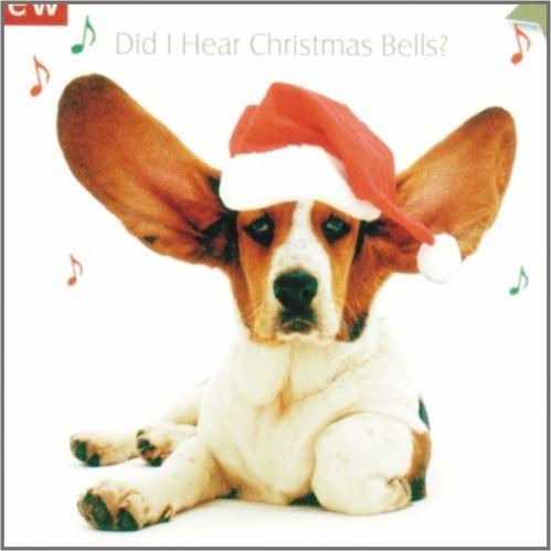 weihnachtliche Grußkarten mit Basset