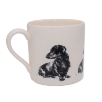 Tasse / Kaffeebecher Victoria Armstrong Collection Dackel