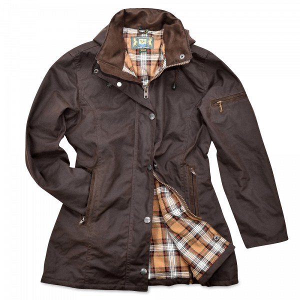 Damen-Wachsjacke New Ashdown