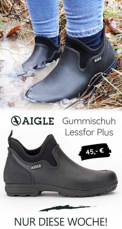 AIGLE Gummischuh Lessfor Plus
