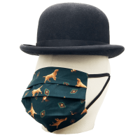 "Mund-Nasen-Maske ""Dog & Ducks"""