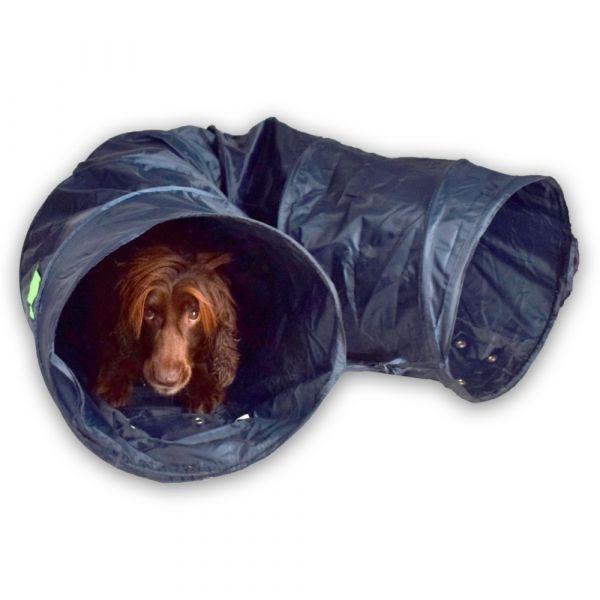 Agility Tunnel für kleine Hunde und Welpenprägung