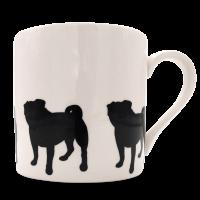 Tassen und Kaffeebecher Victoria Armstrong Collection Mops - Pug
