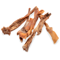 Kausnack Rinderkopfhaut, getrocknet, 500g Beutel