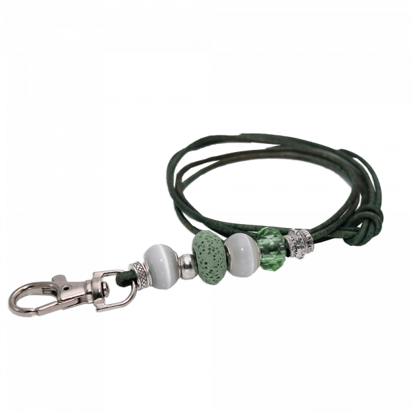 ROMNEYS Design-Pfeifenband Green Sparkle