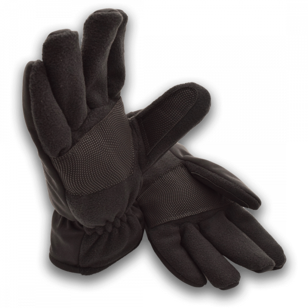 Softshell Handschuhe, schwarz