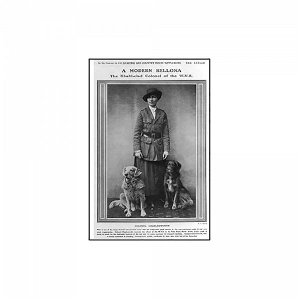 Reprint - Goldens 1916, Colonel Charlesworth