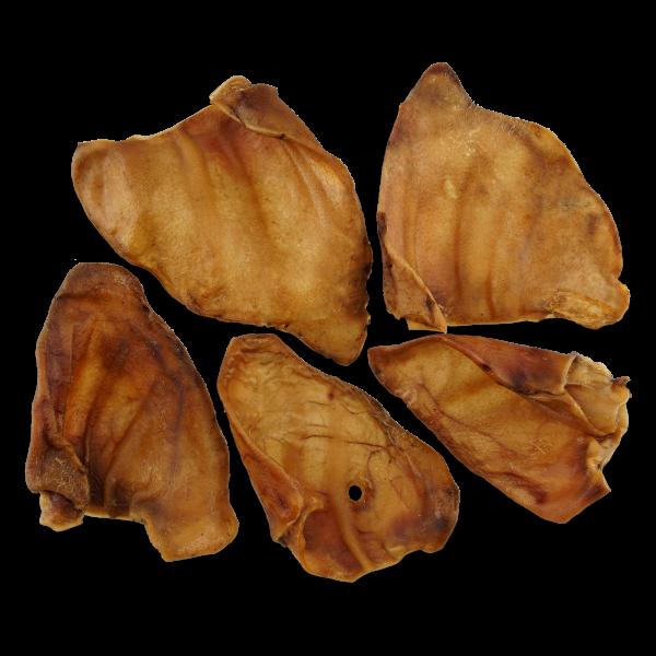 Kausnack Schweineohren, getrocknet, 400g