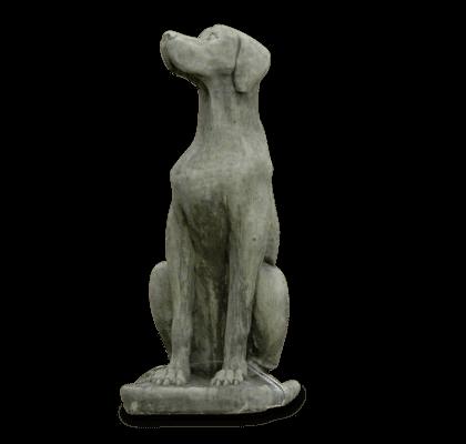 Steinskulptur Deutsche Dogge