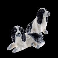 Salz und Pfefferstreuer mit Hundemotiv Spaniel