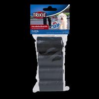 Hundekotbeutel, Kunststoff, schwarz, 4 Rollen à 20 Stück