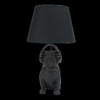 Tischlampe Bulldogge mit Hund