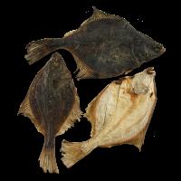 Trockenfisch Flunder, getrocknet, 3 Stück