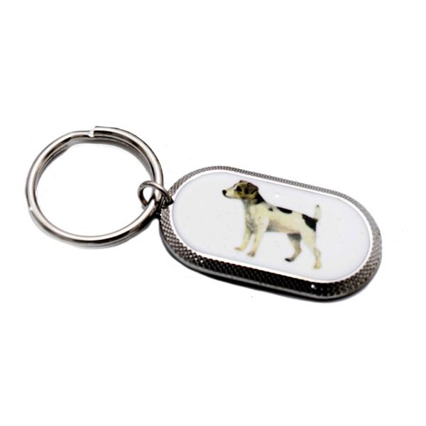 Schlüsselanhänger mit Jack Russel Terrier