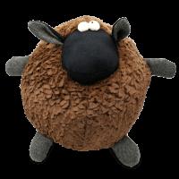 Plüschtier - das braune Tweed-Schaf Brownie