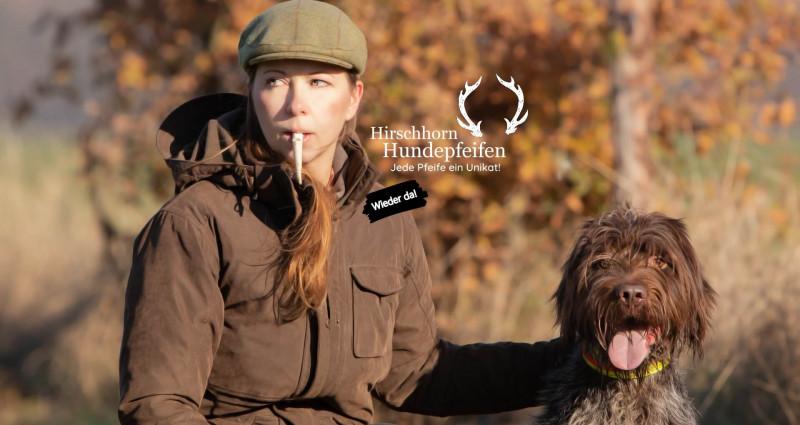 Hirschhorn Hunde-Pfeife