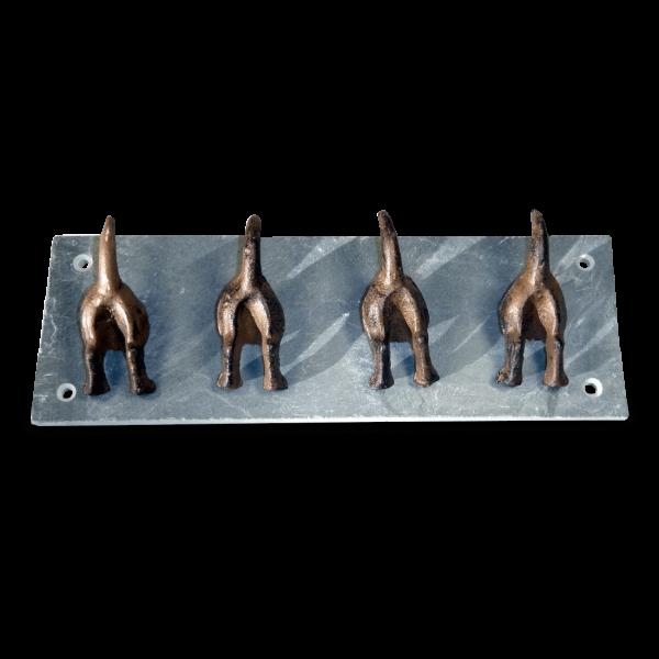 Wandhakenleiste Hundeschwanz