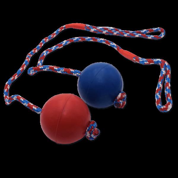 Gummiball mit Seil