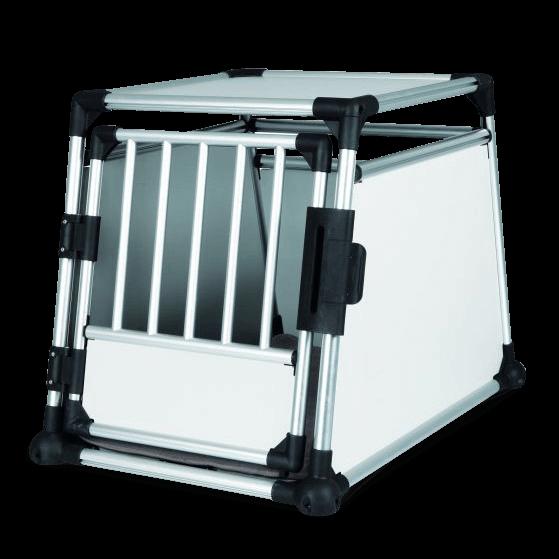 Transportbox o. Hunde-Autobox Aluminium