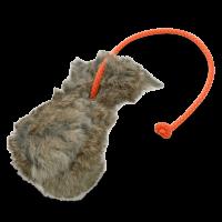 ROMNEYS Dummyball, mit Kaninchenfell