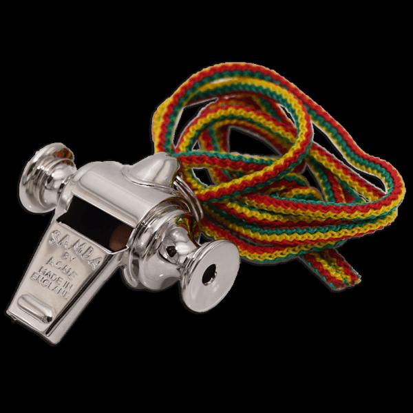 ACME Metal Samba Whistle No. 444 - Samba Pfeife aus Metall