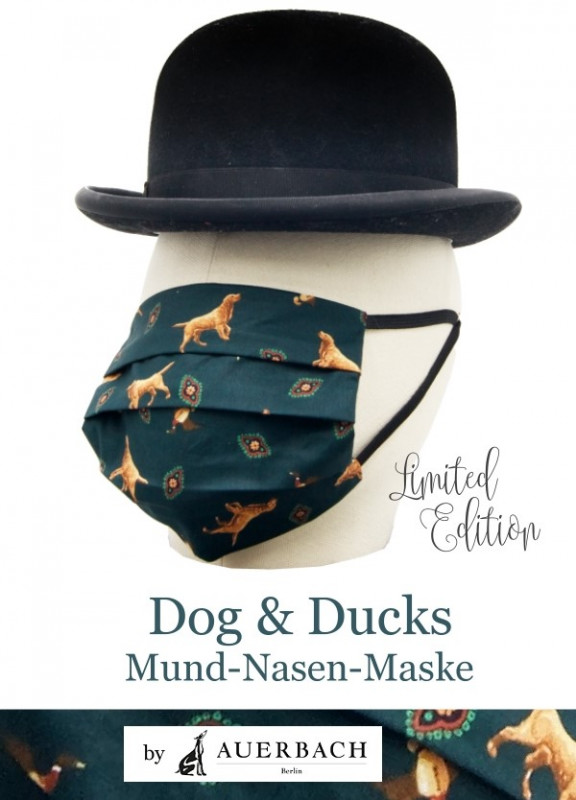 Stilvolle Mund-Nasen-Masken aus dem Hause Auerbach
