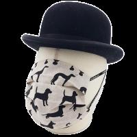 """Mund-Nasen-Maske """"Ein Haufen Hunde"""""""