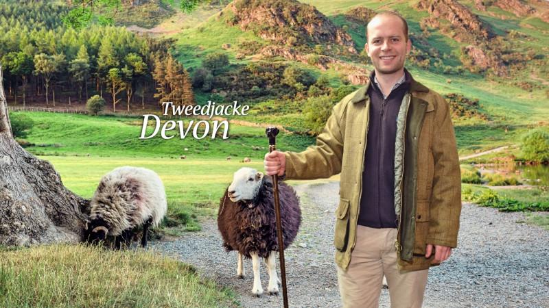 Tweedjacke Devon