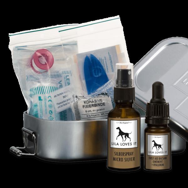 Lila Loves It - First Aid Box, der Verbandskasten für Hunde